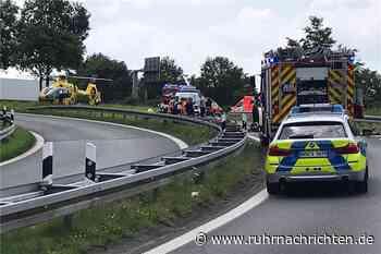 Nach Alleinunfall eines Motorradfahrers in Gronau: Fahrer verstorben - Ruhr Nachrichten