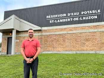 Eau potable: un projet de 16 M$ à Saint-Lambert-de-Lauzon - Beauce-Média