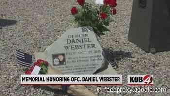 Fallen APD officer gets new memorial