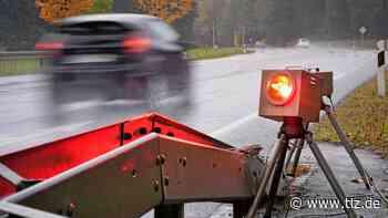 Autofahrer bei Westhausen rast mit fast doppelter Geschwindigkeit durch die 100er-Zone - Thüringische Landeszeitung