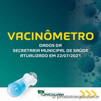 VACINÔMETRO - Tupaciguara/MG! - Jornal do Triângulo