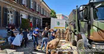 Simmerath hilft Stolberg: Helfertag an der Vicht statt Betriebsausflug - Aachener Nachrichten