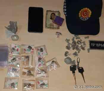 PM prende casal por tráfico de drogas em Paragominas - G1