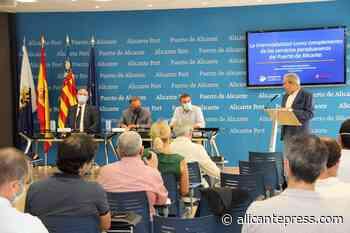 El Puerto de Alicante presenta la nueva conexión con Londres - Alicantepress.com