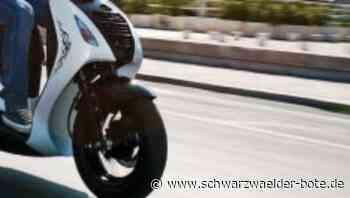 Unfall in Rangendingen - Rollerfahrer flüchtet nach Zusammenstoß mit Fußgängerin - Schwarzwälder Bote