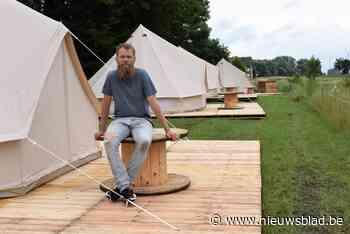 """Vlaskamp strijkt neer in Wakkense Mandelvallei: """"Luxueus kamperen in de prairie van Dentergem""""<BR />"""