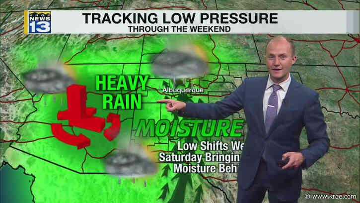 Storm chances continue Saturday