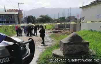 Asesinan a un individuo a balazos en Soledad Etla - Quadratín Oaxaca