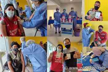 En Villa de Merlo fueron convocadas 1.057 personas para recibir segundas dosis de la vacuna Sinopharm - Infomerlo.com