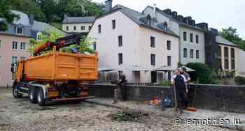 Inondations dans le Grund : le pont de la rue Munster en travaux - Le Quotidien.lu
