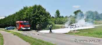 Auto brennt zwischen Weinstadt und Remshalden - Weinstadt - Zeitungsverlag Waiblingen