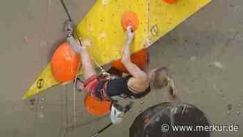 Klettern: Martina Demmel findet Gefallen am Plastik - Merkur Online