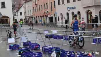 Regenkapriolen und erster Dreifachsieg bei Triathlon in Schongau - Merkur Online