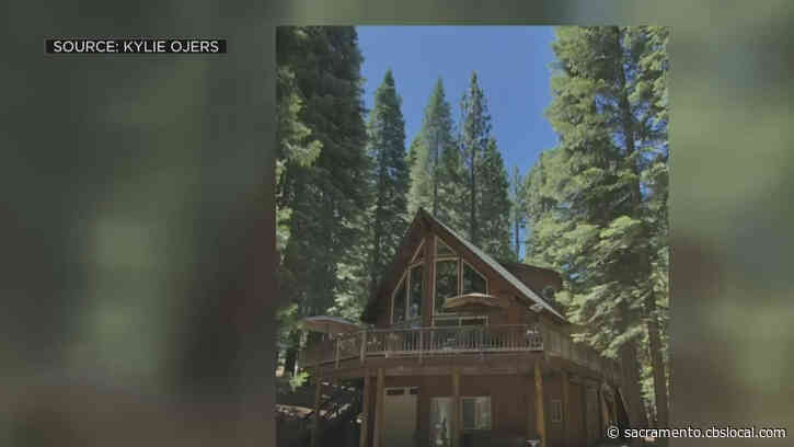 Family Evacuated From Path Of Dixie Fire Hopes Their Lake Almanor Home Is Spared