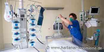 Corona in Herten: Inzidenz bleibt bei 8,1; Blick in Krankenhäuser - Hertener Allgemeine