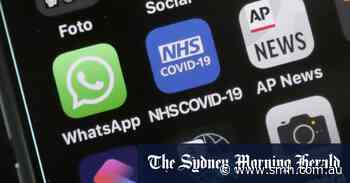 Scientists worry British public may be deleting COVID app to avoid isolating - Sydney Morning Herald