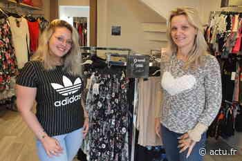 Evron : la mère et la fille ouvrent leur magasin de mode - Le Courrier de la Mayenne