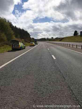 Police woman 'smelt cannabis as car overtook her on M65'