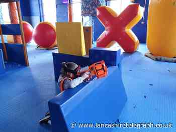 There's fun for all ages at the Blackburn Dart Zone