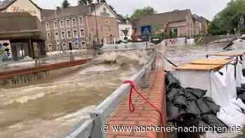 """Herzogenrath: Restaurant """"Zur Brücke"""" vom Hochwasser getroffen - Aachener Nachrichten"""