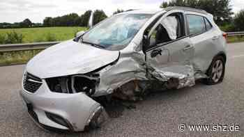 Unfall bei Bad Bramstedt: Auf B206: VW-Fahrer verliert Kontrolle und schleudert in den Gegenverkehr   shz.de - shz.de