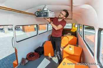 Umgebauter Kinobus startklar: Robur macht bei Inselfest Station - Freie Presse