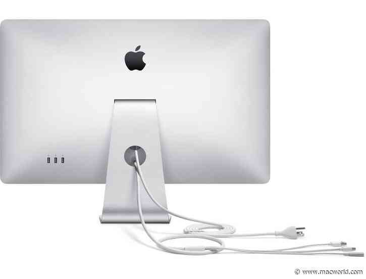 How to connect an Apple LED Cinema Display to a new MacBook