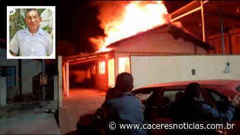 Polícia prende genro e filha de idoso morto em incêndio em Mirassol D'Oeste - Cáceres Noticias