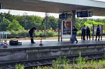 Messerattacke am Bahnsteig - Brutale Gewalttat am Bahnhof Esslingen - esslinger-zeitung.de