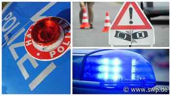 Blaulichtreport Esslingen: Die Polizei sucht geschädigten Fahrzeuglenker auf der A8 - SWP