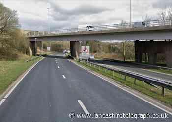 A56 shut in Haslingden  after girl falls from bridge