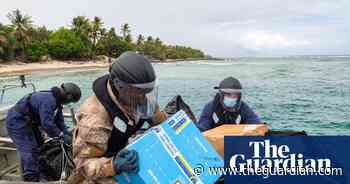 Inflatable dinghies and Zoom medical training: how a remote Pacific atoll got Pfizer - The Guardian