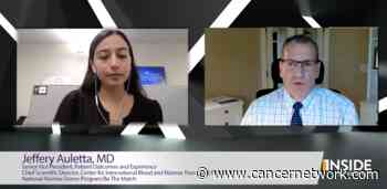 Medical World News® Inside the Practice: CancerNetwork® and Jeffery Auletta, MD, Discuss Mismatched and Unrelated Donor Stem Cell Transplants in Patients With Acute Leukemias and Myelodysplastic Syndrome - Cancer Network