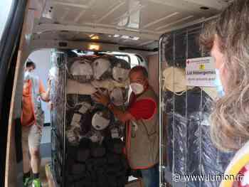 À Soissons, la Croix-Rouge prépare un centre d'accueil d'urgence en prévision de la crue - L'Union