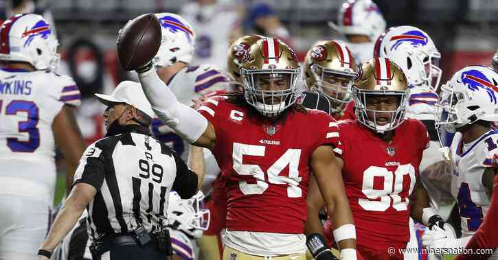 Golden Nuggets: Fred Warner plans to lead the 49ers defense by example