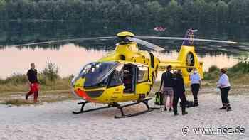 Taucherunfall am Dankernsee in Haren - Niederländer verletzt - noz.de - Neue Osnabrücker Zeitung