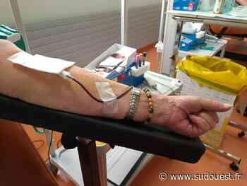 Libourne : grande opération de don du sang - Sud Ouest