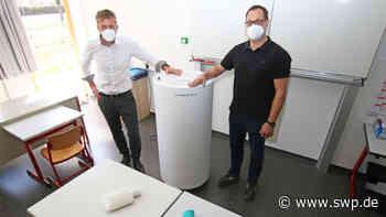 Mobile Luftfilter: Wie es in Langenau mit Blick aufs neue Schuljahr weitergehen soll - SWP