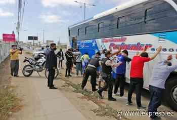 La delincuencia se filtra en los buses de Santa Elena - expreso.ec