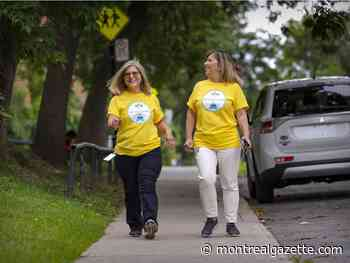 Mitzvah Girls by name and by nature: dear friends walk to fight cancer