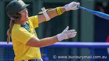 Aust softballers 'playing a little scared' - Bunbury Mail