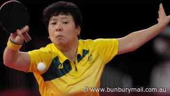 Australia's Fang Lay wins in table tennis - Bunbury Mail