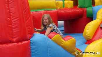 Kinderlachen im Spieleland: Besuch im mobilen Freizeitpark Corellino in Hamm-Herringen - Westfälischer Anzeiger