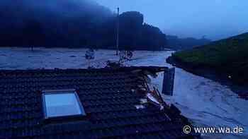Ehepaar aus Hamm im Hochwasser von Ahrweiler: Alptraum auf dem Hausdach - Spendenaktion - wa.de