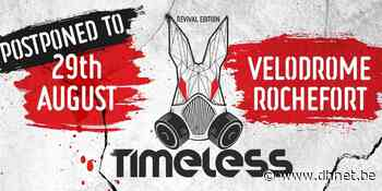 Rochefort : le Timeless Festival reporté à la fin août - dh.be