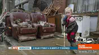 Inondations: une famille de Marche se mobilise pour les sinistrés de Rochefort - RTL info