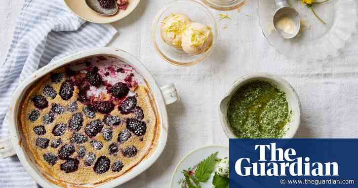 Helena Garcia's foraged recipes for clafoutis, ice-cream and nettle pesto