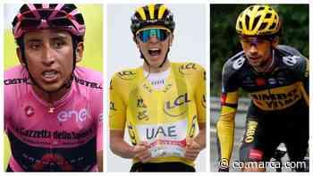 La Vuelta quiere juntar a Bernal, Roglic... y Pogacar en una batalla de leyenda - Marca Claro Colombia