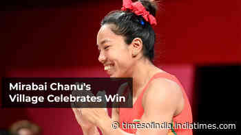How a village in Manipur celebrated Mirabai Chanu's silver medal