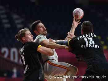 Olympische Spiele: Frust und Enttäuschung: Handballer verlieren Auftakt - Bietigheimer Zeitung